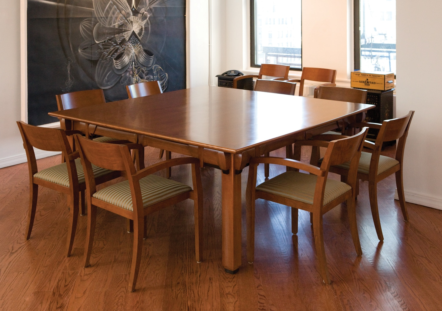 Tables - Tall conference table