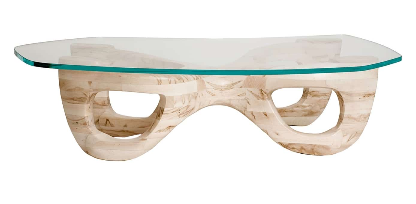 Guarino Furniture Designs Avorio Table Ambrosia Wood