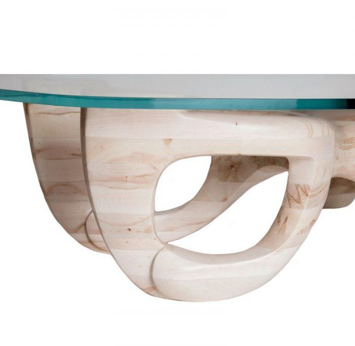 guarino furniture designs avorio table sapphire glass