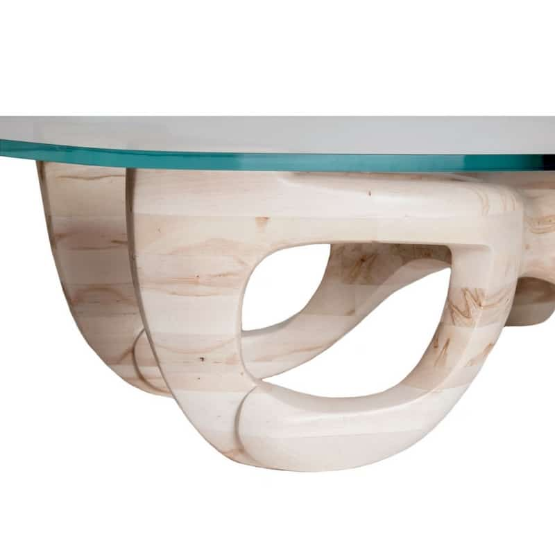 guarino furniture designs avorio table sapphire glass