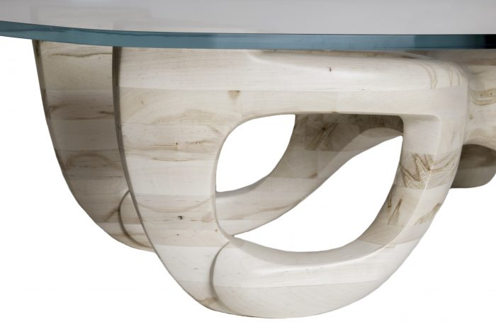 Glen Guarino Furniture Designs Avorio Table Detail