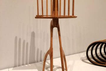 Allegro Music Stand shown at Delaware Art Museum 2018